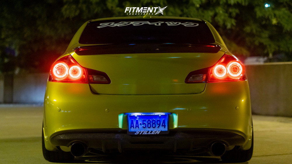 3 2012 G37 Infiniti X Bc Racing Coilovers Aodhan Ds07 Black