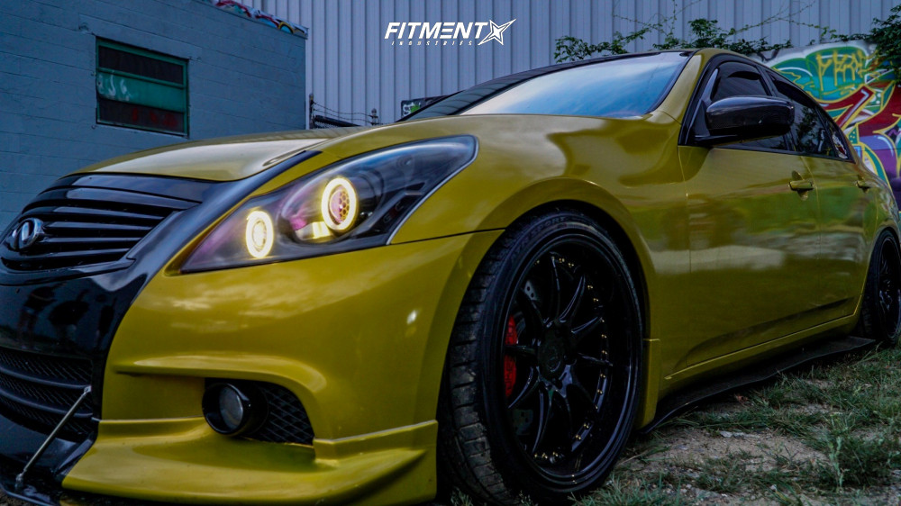 4 2012 G37 Infiniti X Bc Racing Coilovers Aodhan Ds07 Black