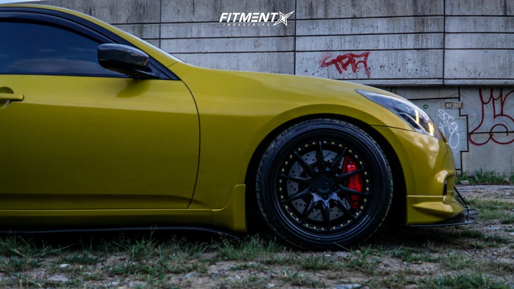 9 2012 G37 Infiniti X Bc Racing Coilovers Aodhan Ds07 Black