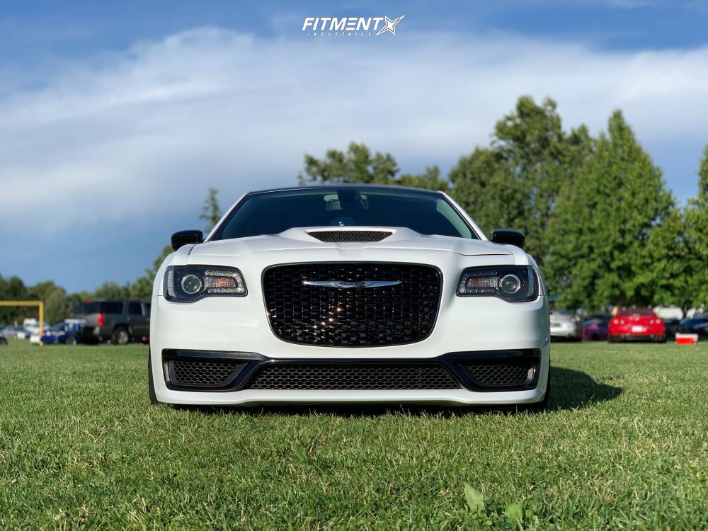 2 2018 300 Chrysler C Accuair Air Suspension Ferrada Fr2 Machined