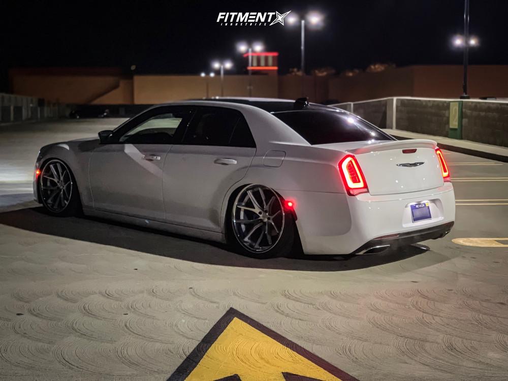 4 2018 300 Chrysler C Accuair Air Suspension Ferrada Fr2 Machined