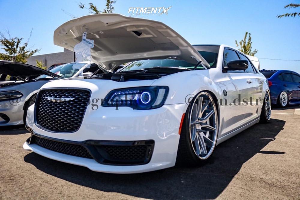 5 2018 300 Chrysler C Accuair Air Suspension Ferrada Fr2 Machined