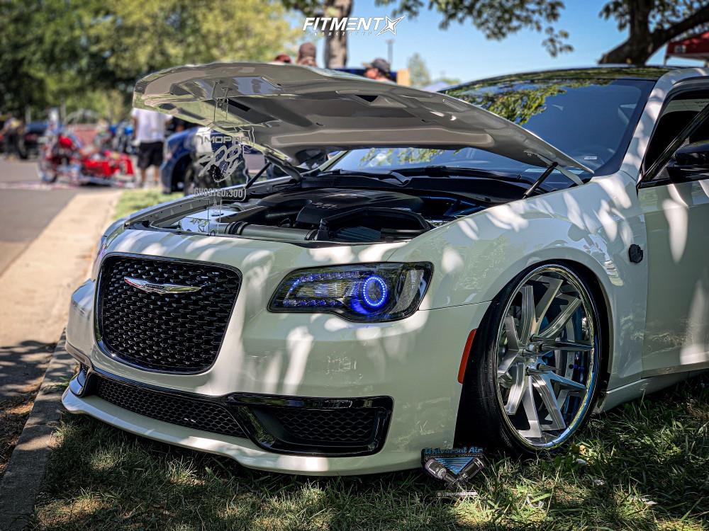 8 2018 300 Chrysler C Accuair Air Suspension Ferrada Fr2 Machined