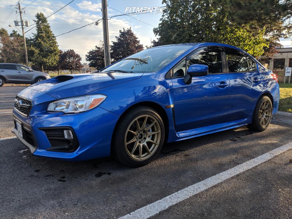 1 2019 Wrx Subaru Base Stock Stock Xxr 527 Gold