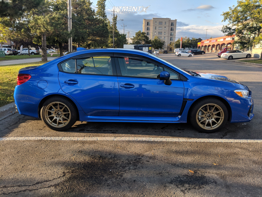 4 2019 Wrx Subaru Base Stock Stock Xxr 527 Gold