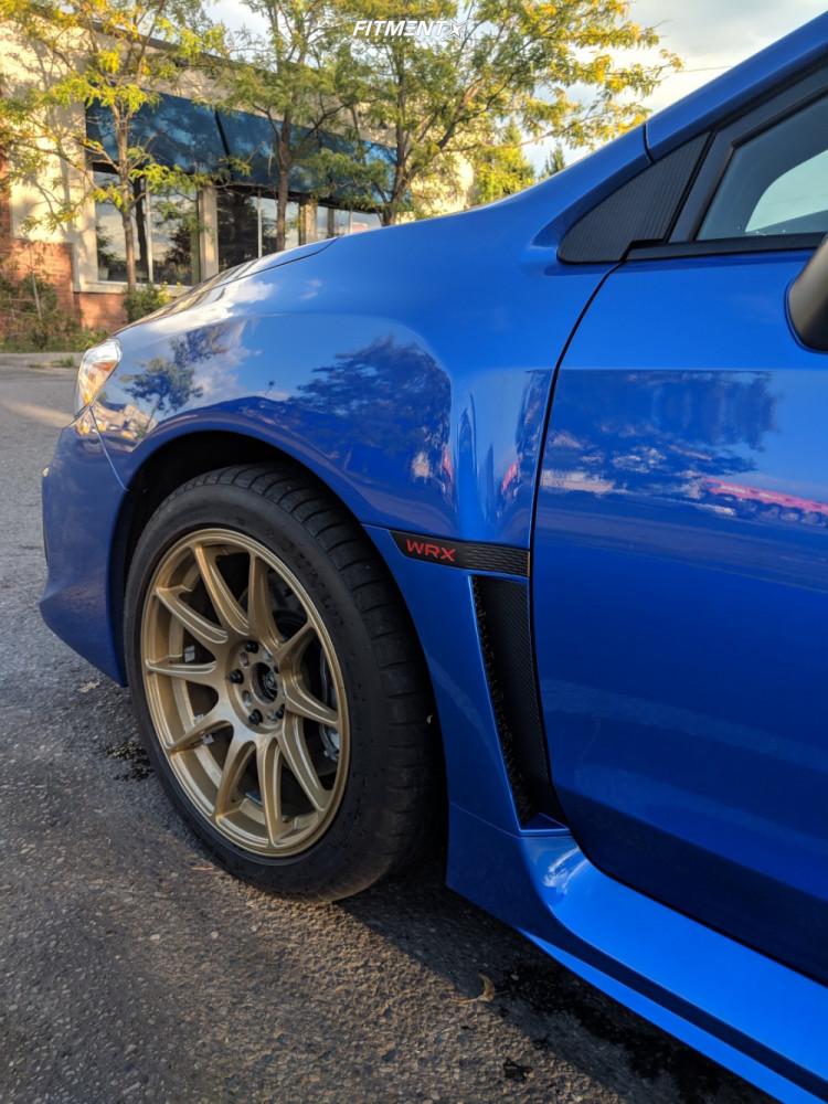 5 2019 Wrx Subaru Base Stock Stock Xxr 527 Gold