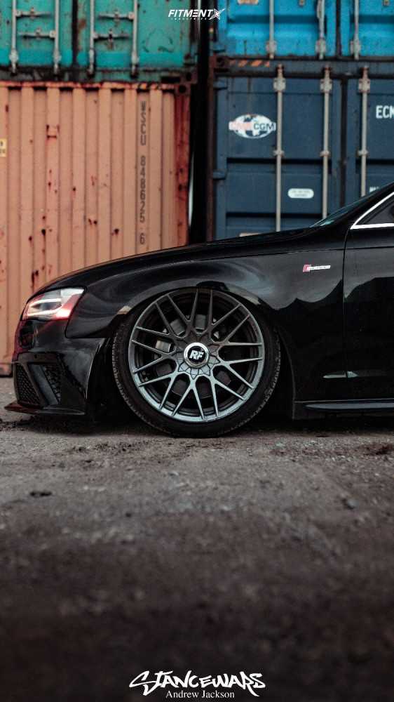 Tucked 2014 Audi S4 with 19x10 Rotiform Rse and Continental Extremecontact Dws06 245/45 on Air Suspension - Fitment Industries Gallery