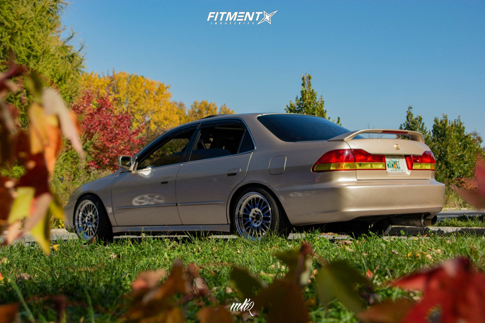 2001 Honda Accord Ex With 17x9 Xxr 531 And Nankang 215x45 On Coilovers 822667 Fitment Industries