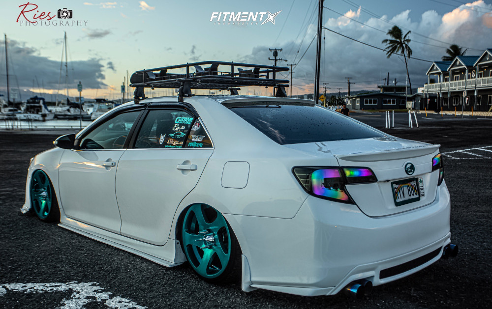 2012 Toyota Camry Rotiform Tmb Airrex Air Suspension Fitment Industries