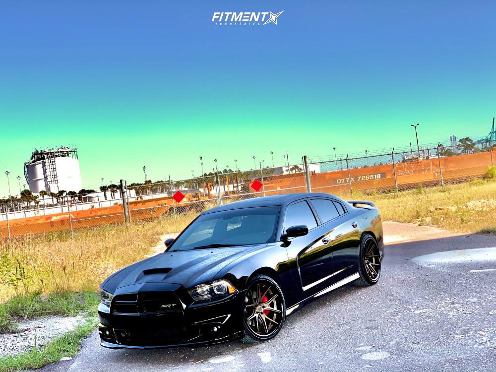 1 2013 Charger Dodge Srt8 Bilstein Stock Ferrada Fr2 Bronze