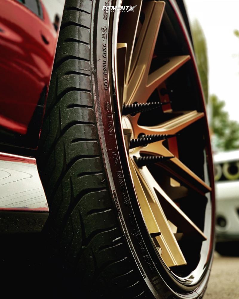 10 2013 Charger Dodge Srt8 Bilstein Stock Ferrada Fr2 Bronze