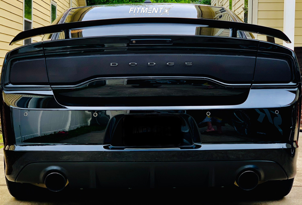 3 2013 Charger Dodge Srt8 Bilstein Stock Ferrada Fr2 Bronze