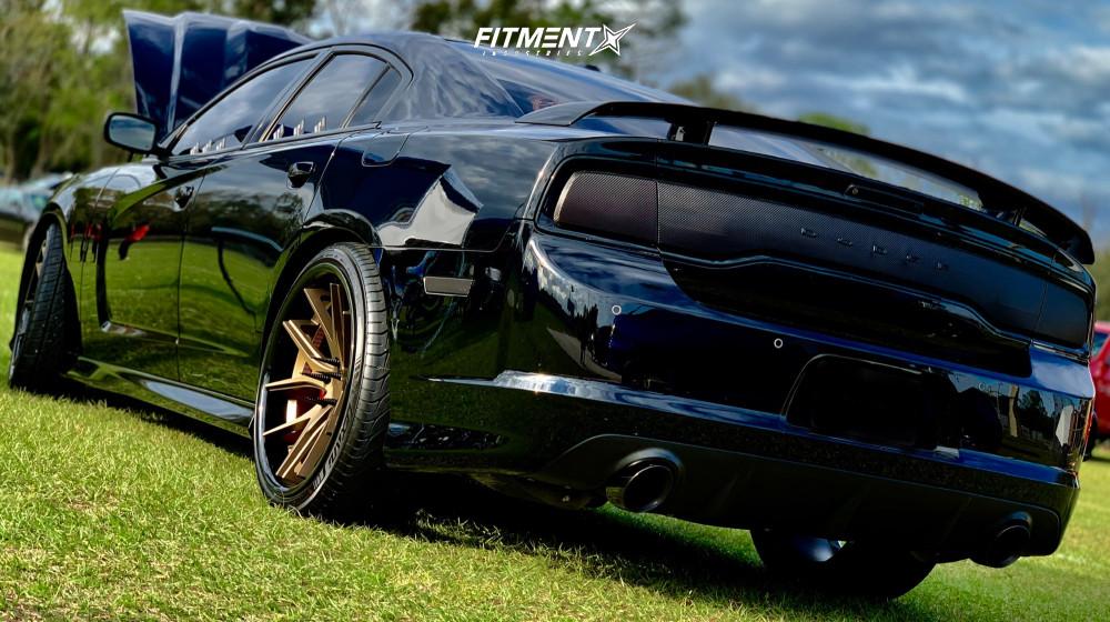 4 2013 Charger Dodge Srt8 Bilstein Stock Ferrada Fr2 Bronze