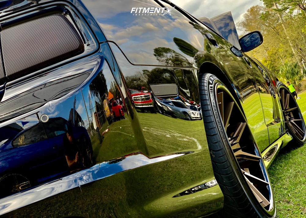 6 2013 Charger Dodge Srt8 Bilstein Stock Ferrada Fr2 Bronze
