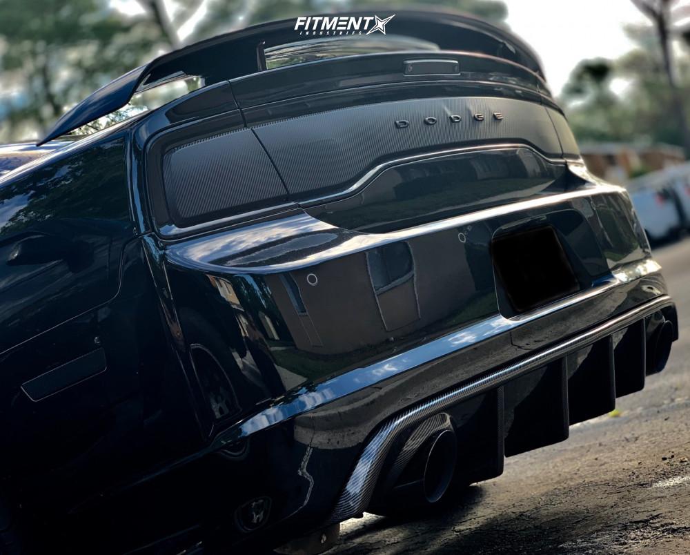 7 2013 Charger Dodge Srt8 Bilstein Stock Ferrada Fr2 Bronze