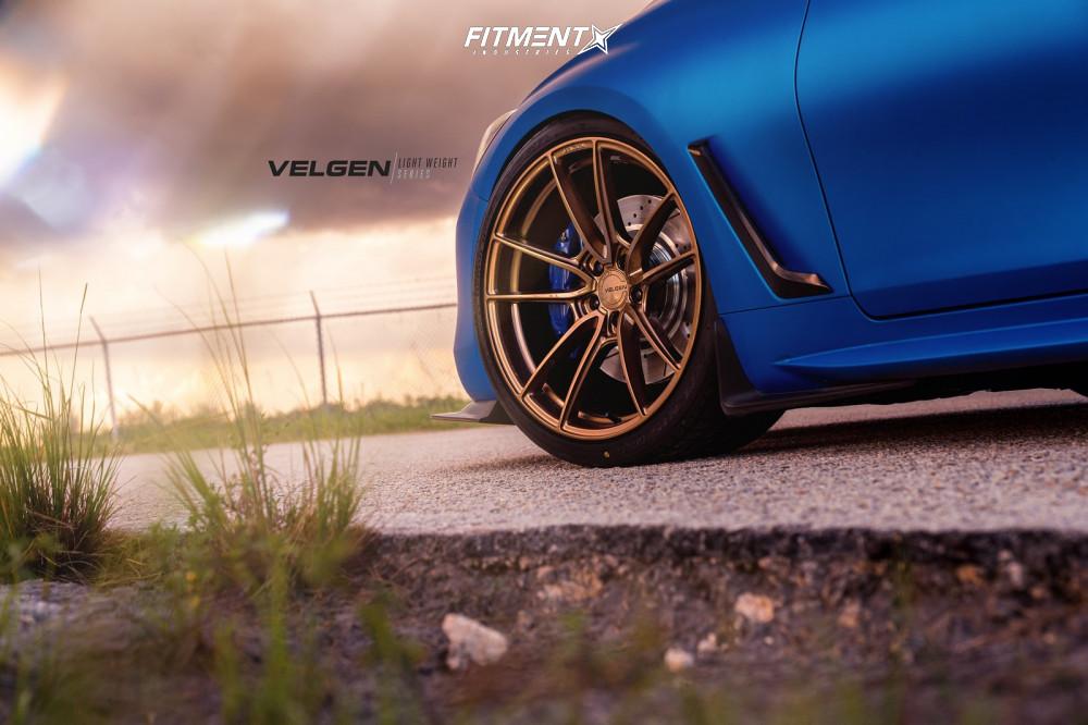 6 2018 Q60 Infiniti Sport Bc Racing Coilovers Velgen Vf5 Bronze