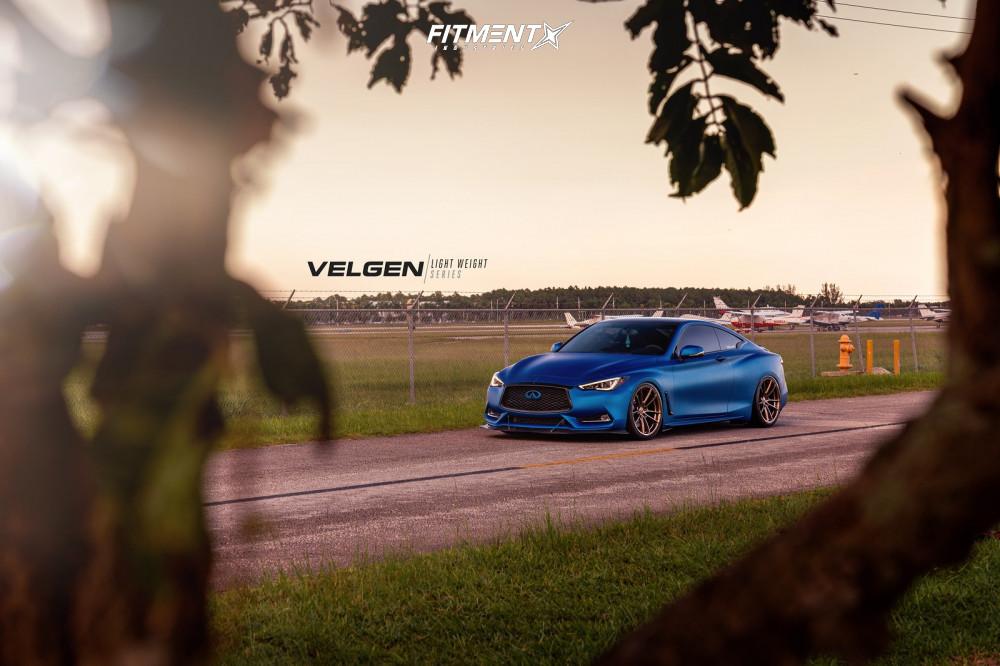 9 2018 Q60 Infiniti Sport Bc Racing Coilovers Velgen Vf5 Bronze