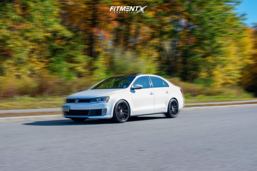 Flush 2012 Volkswagen Jetta with 19x8.5 Rotiform Spf and General G-max Rs 235/35 on Coilovers - Fitment Industries Gallery