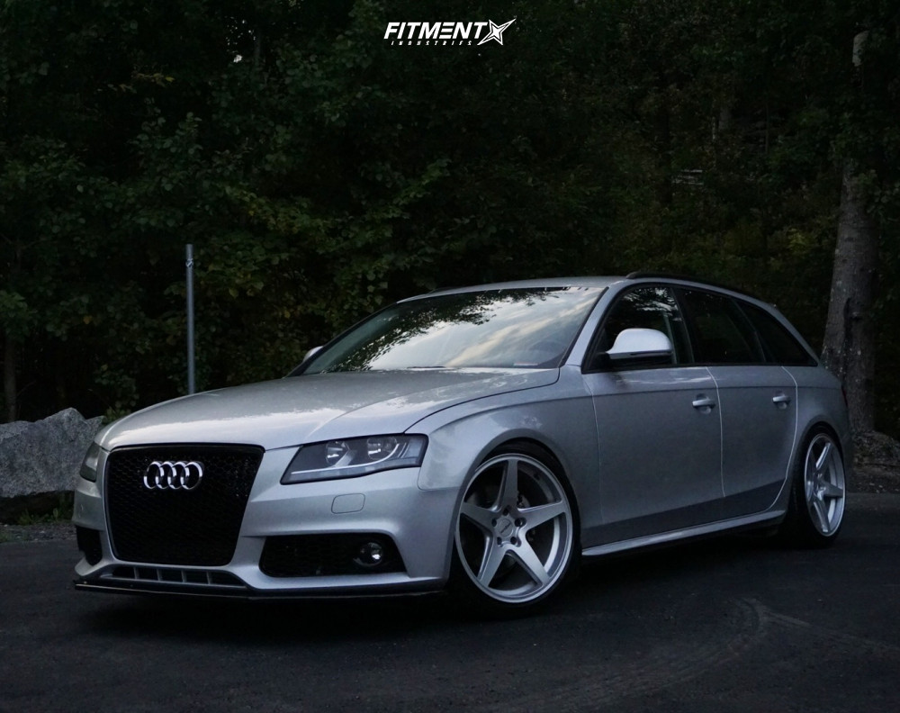1 2009 A4 Audi Base Yellow Speed Racing Coilovers Rotiform Wgr Silver