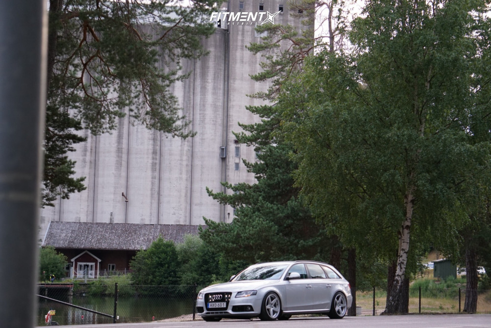 3 2009 A4 Audi Base Yellow Speed Racing Coilovers Rotiform Wgr Silver