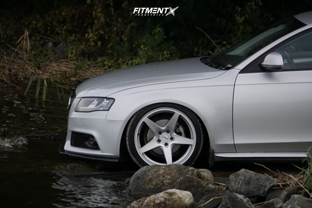4 2009 A4 Audi Base Yellow Speed Racing Coilovers Rotiform Wgr Silver