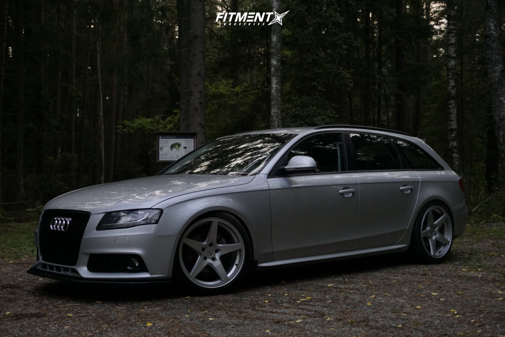 5 2009 A4 Audi Base Yellow Speed Racing Coilovers Rotiform Wgr Silver