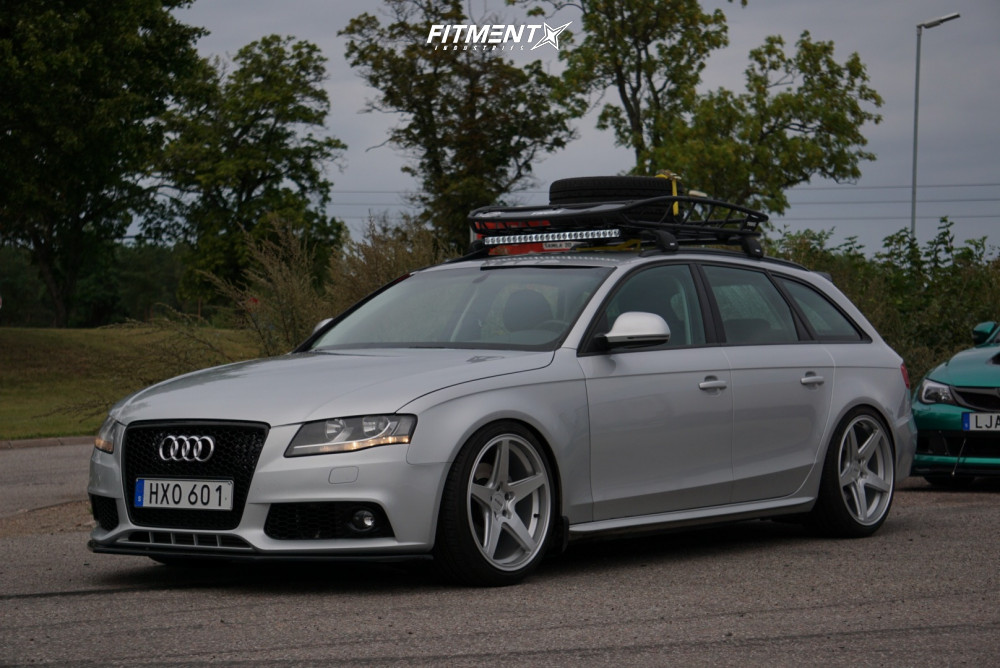 6 2009 A4 Audi Base Yellow Speed Racing Coilovers Rotiform Wgr Silver