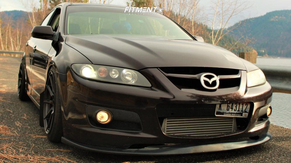 7 2006 Mazdaspeed6 Mazda Base Raceland Coilovers Enkei Ts 10 Black
