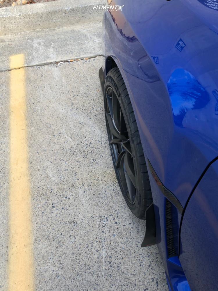 12 2017 Wrx Sti Subaru Base Stock Air Suspension Vorsteiner V Ff108 Black