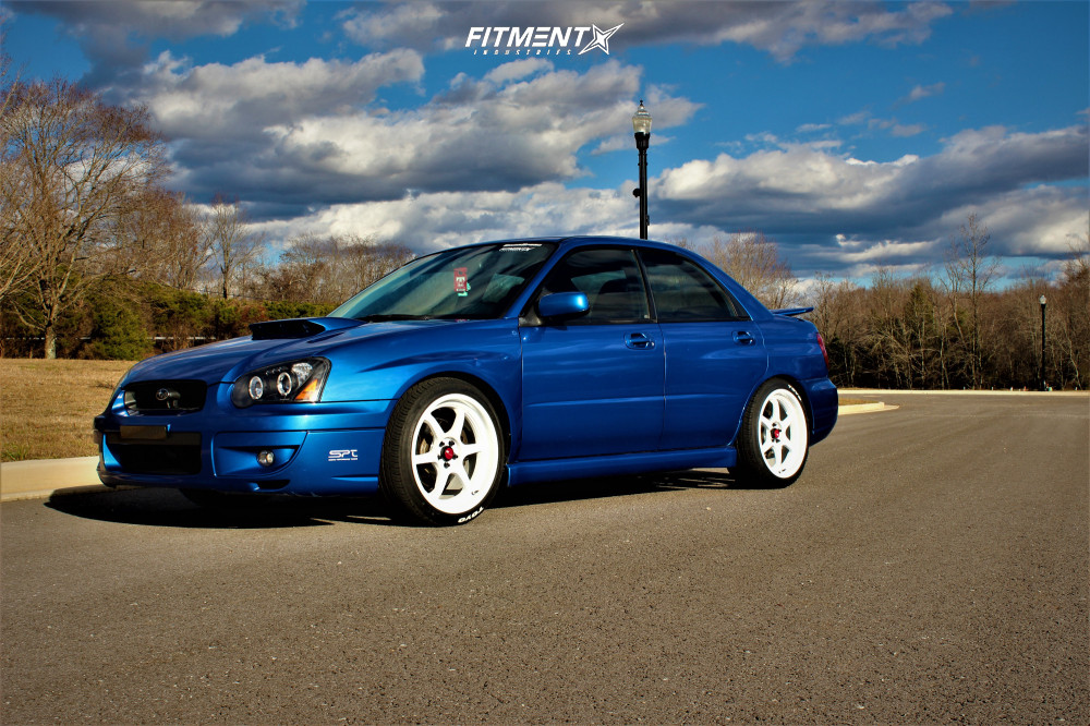 1 2005 Impreza Subaru Wrx Other Lowering Springs Aodhan Ah08 White