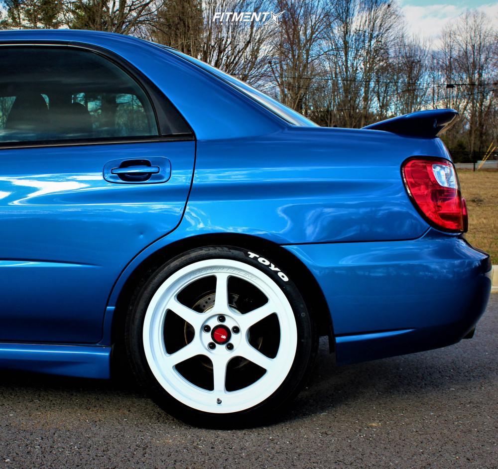 10 2005 Impreza Subaru Wrx Other Lowering Springs Aodhan Ah08 White