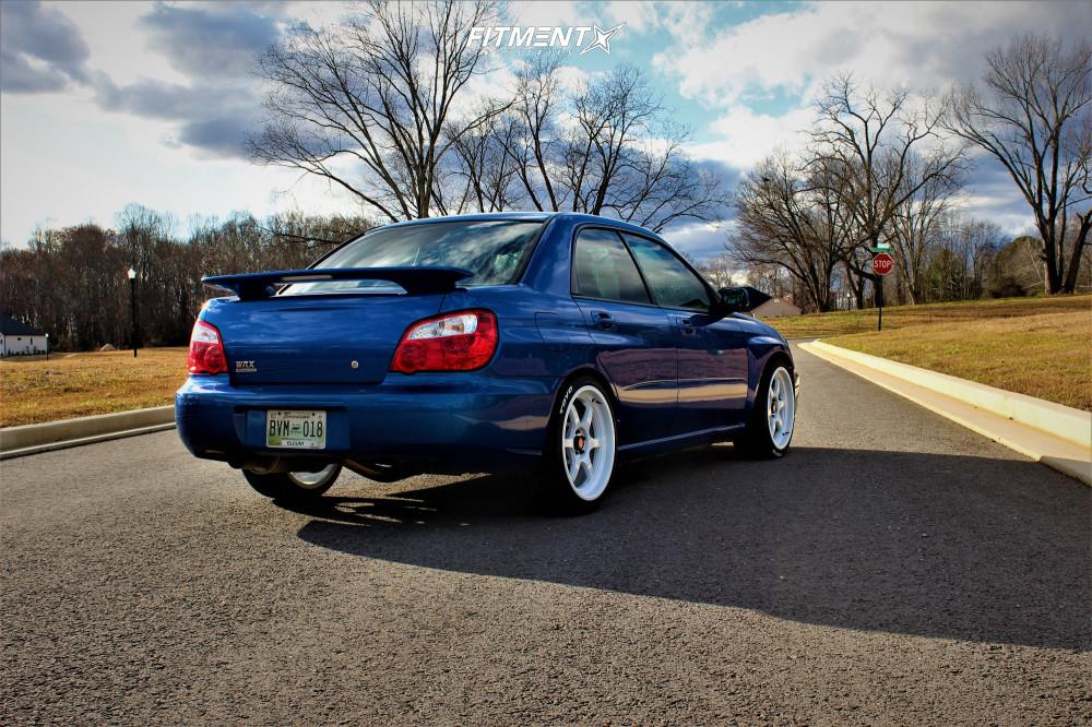 3 2005 Impreza Subaru Wrx Other Lowering Springs Aodhan Ah08 White
