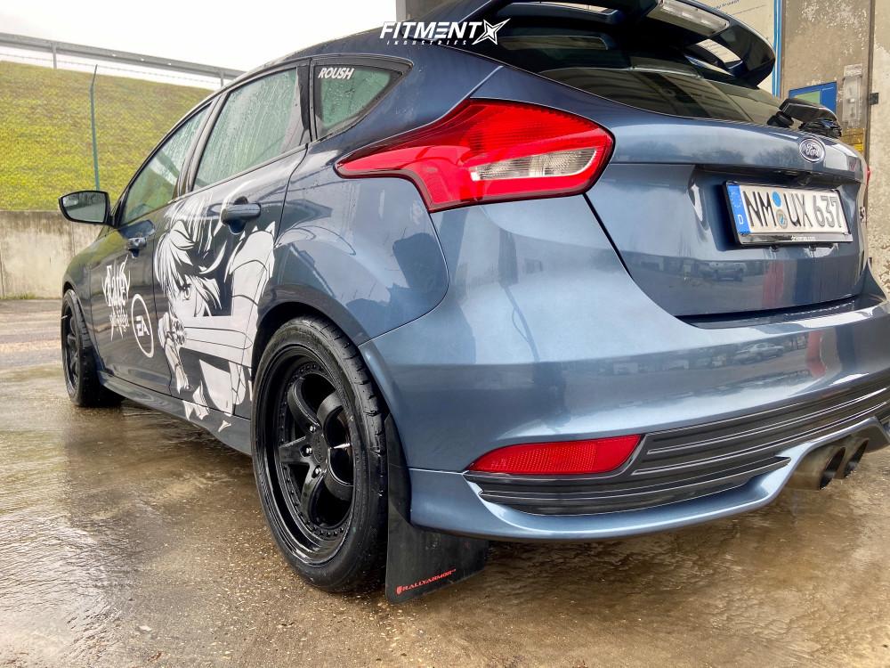 11 2018 Focus Ford St Stock Air Suspension Xxr 565 Black