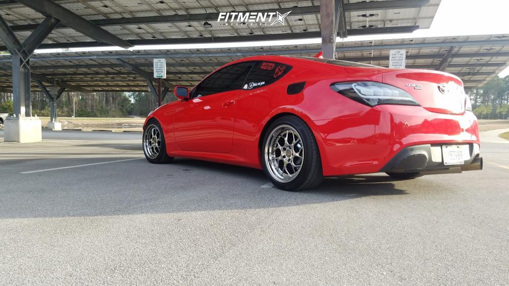 4 2013 Genesis Coupe Hyundai 20t Eibach Lowering Springs Aodhan Ds01 Chrome