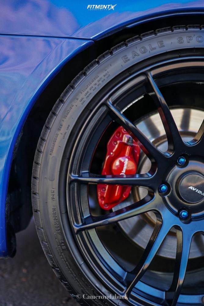 11 2015 Lancer Mitsubishi Evolution Gsr Fortune Auto Coilovers Avid1 Av20 Black