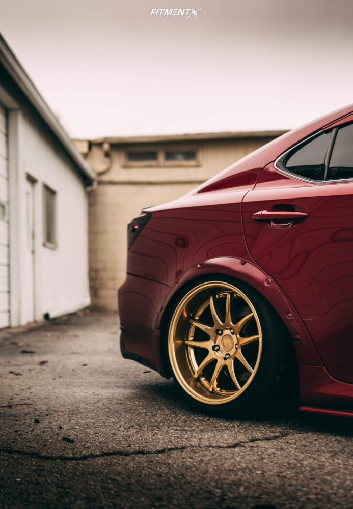 5 2006 Is350 Lexus Base Rev9 Hyper Street Coilovers Coilovers Aodhan Ds02 Gold