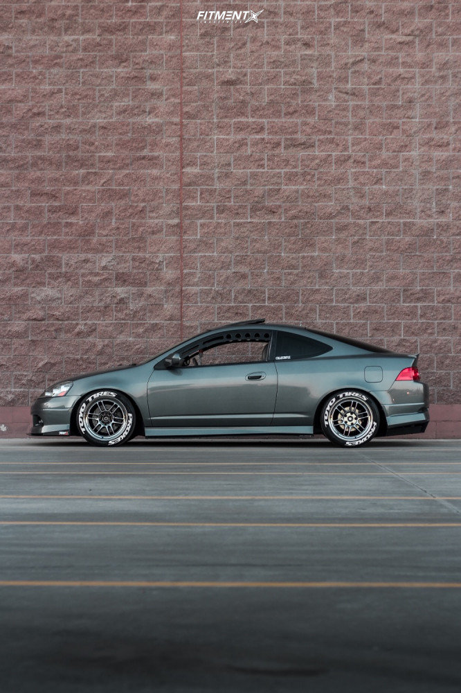16 2006 Rsx Acura Type S Function And Form Coilovers Enkei Rpf1 Custom