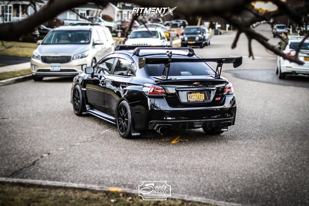 1 2019 Wrx Sti Subaru Limited Bc Racing Coilovers Konig Dekagram Matte Black