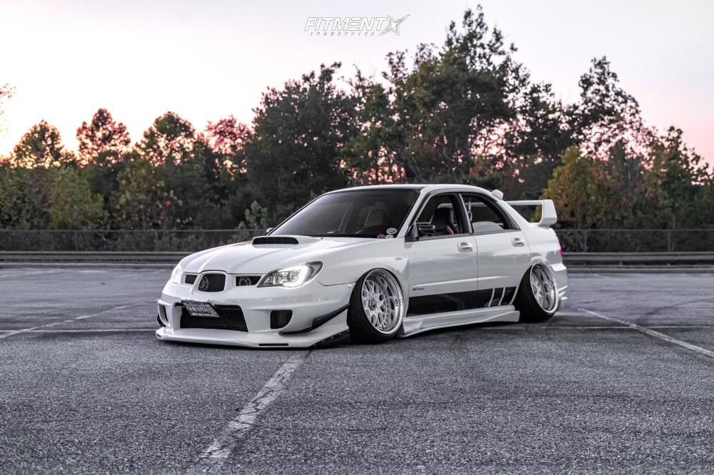 Bagged Subaru