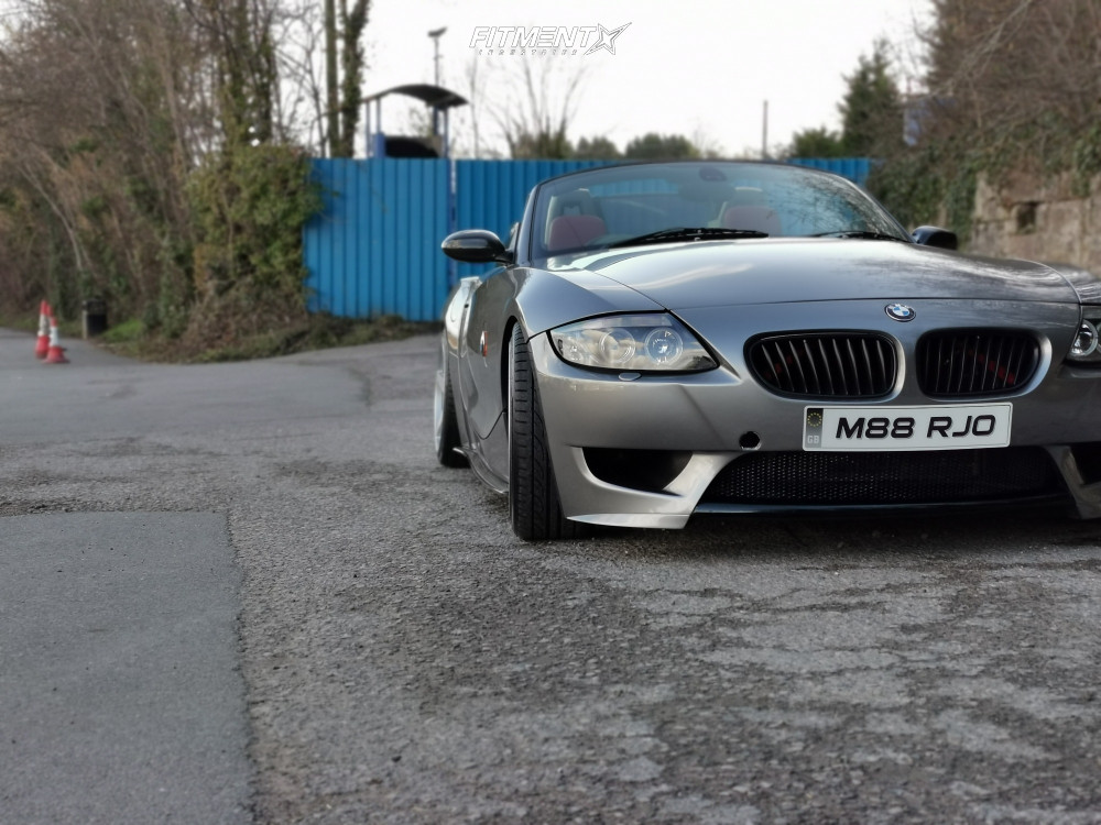 1 2003 Z4 Bmw 30i Bc Racing Coilovers Rotiform Wgr Silver