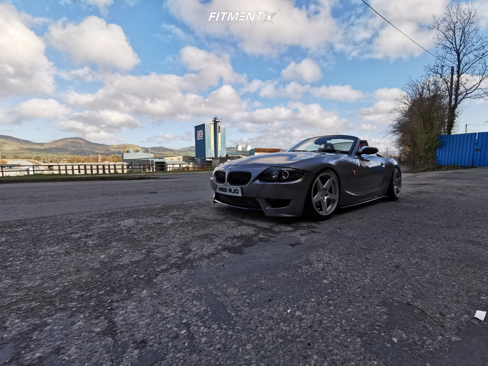 4 2003 Z4 Bmw 30i Bc Racing Coilovers Rotiform Wgr Silver