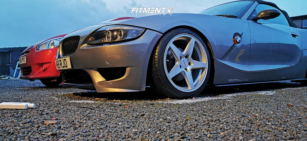 9 2003 Z4 Bmw 30i Bc Racing Coilovers Rotiform Wgr Silver