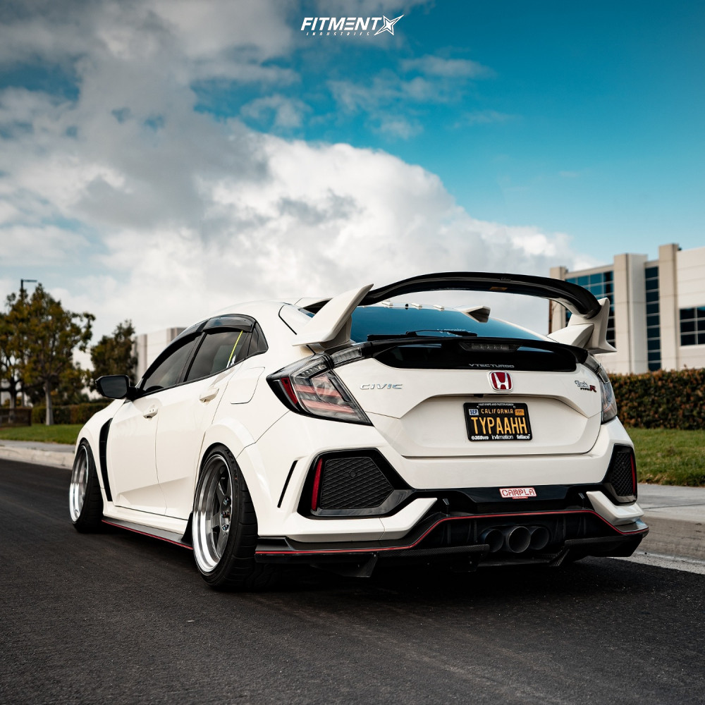 Lowered Civic Type R