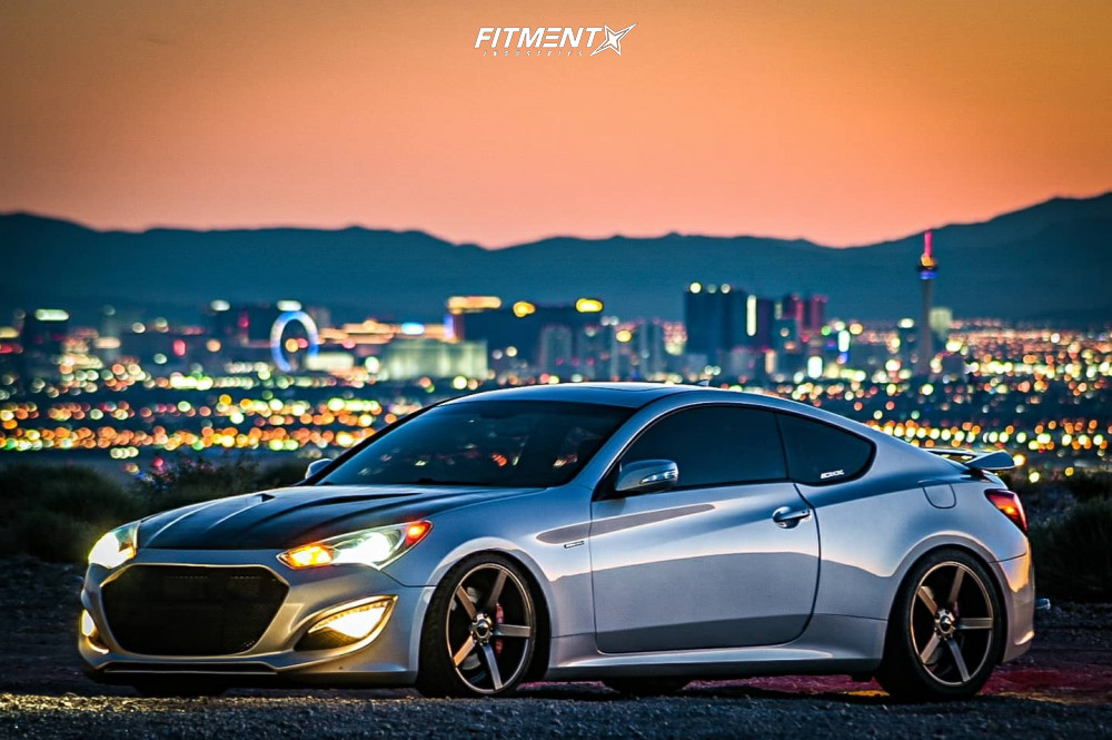 BK2 Genesis Coupe BC Racing Coilovers