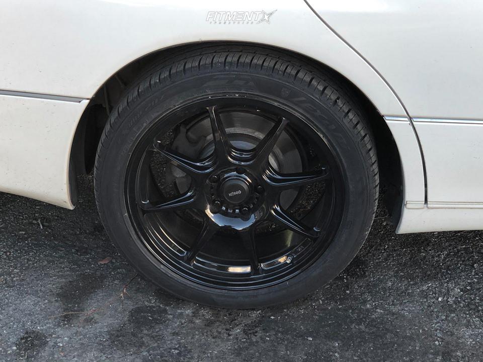 11 1999 Gs300 Lexus Base Stock Air Suspension Konig Lockout Black
