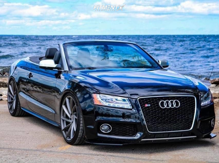 Lowered Audi S5 Cabriolet